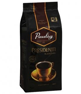 Кофе в зернах Paulig Presidentti Black Label (Паулиг Президентти Блэк Лейбл ) 250г, вакуумная упаковка
