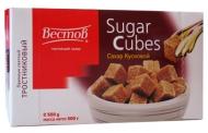 Сахар тростниковый кусковой (500г)