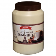 Горячий шоколад HitShok Milk (Хитшок Белый шоколад), 1 кг, банка