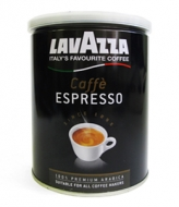 Lavazza Espresso (Лаваца Эспрессо), кофе молотый (250г), упаковка - жестяная банка